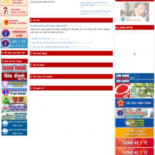 Cổng Thông tin điện tử Bộ Y tế