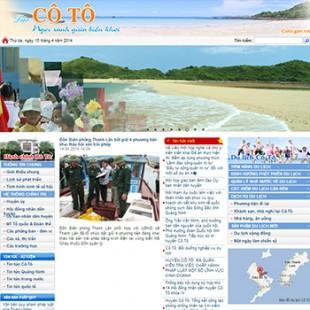 Cổng thông tin điện tử huyện Cô Tô