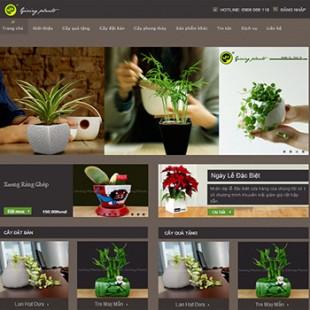 Công ty quà tặng xanh – Giving Plants